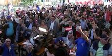 FPÖ feiert in Simmering ohne Masken und Abstand Party
