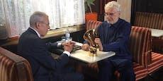André Heller wird im Café für Lebenswerk geehrt
