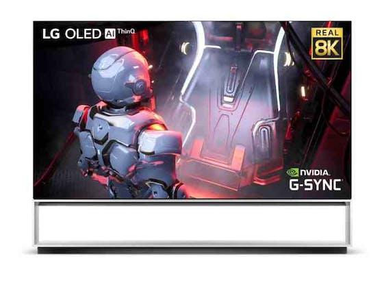 LG unterstützt fortschrittliche GeForce RTX 30-Karten in 8K-OLED-Fernsehern.