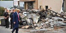 """Für Trump sind Proteste """"inländischer Terrorismus"""""""