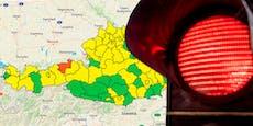 Corona-Ampel schaltet in nächstem Bezirk auf Rot