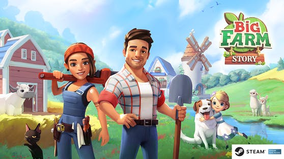 Fröhlicher Farmspaß mit Big Farm Story.