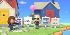 Biden macht Wahlkampf in Animal Crossing
