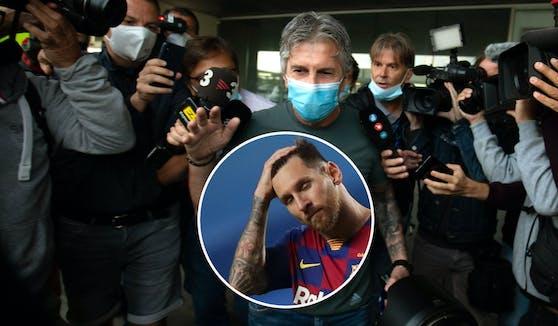 Jorge Messi glaubt nicht, dass Sohn Lionel bei Barcelona bleibt.