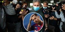 """Jetzt spricht Papa Messi: """"Schwierig, dass er bleibt"""""""