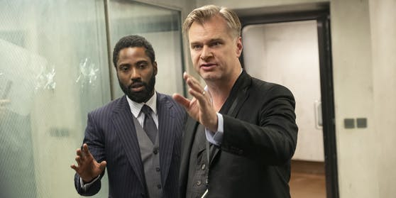 """Tenet"": John David Washington, Christopher Nolan"