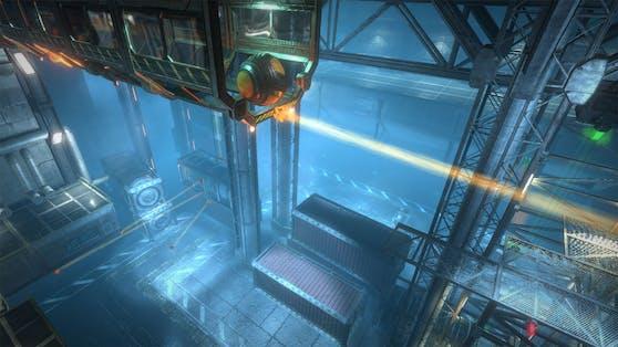 Der Puzzle-Plattformer BEAM schickt die Spieler auf eine Reise ins Weltall.