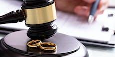 Vier von zehn Ehen geschieden – heuer Corona-Boom