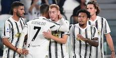 Juve startet mit einem 3:0-Erfolg in die Saison