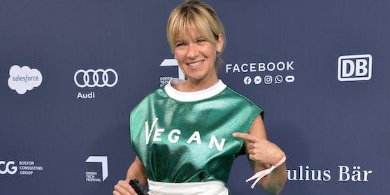 Kerstin Landsmann gibt ihrem Hund kein Fleisch.