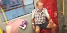 Mann ohne Maske nieste und beschimpfte Frau in U-Bahn