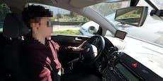 13-Jähriger auf Drogen kauft Auto und flitzt los