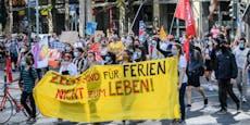 Deutschlandweite Demos gegen Flüchtlingspolitik