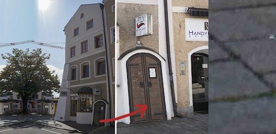 Weil es zu laut war, soll ein Nachbar in diesem Lokal in Braunau Gäste bedroht haben.