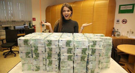 Bei Lotto gibt es wieder Millionen zu holen.