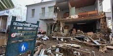 Tote und schwere Schäden bei Unwettern in Griechenland