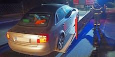 Audi-Fahrerin konnte plötzlich nicht mehr bremsen
