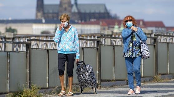 Die Neuinfektionen stiegen in Tschechien zuletzt dramatisch an.