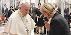 Papst bittet Mikl-Leitner, für ihn zu beten