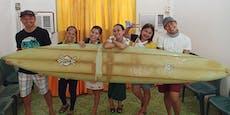Surfbrett taucht 8.000km entfernt wieder auf