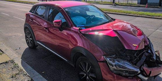 Parkstrafen gibt's auch für Auto-Wracks.