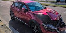 Parkstrafe, obwohl Lenker nach Unfall im Spital liegt
