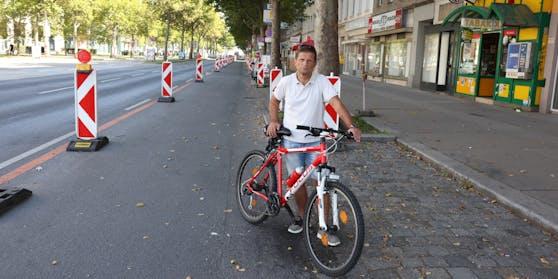 """Pop-up-Radweg ist für Kops """"Schikane"""""""