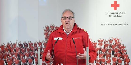 Gerry Foitik, Bundesrettungskommandant des Roten Kreuzes