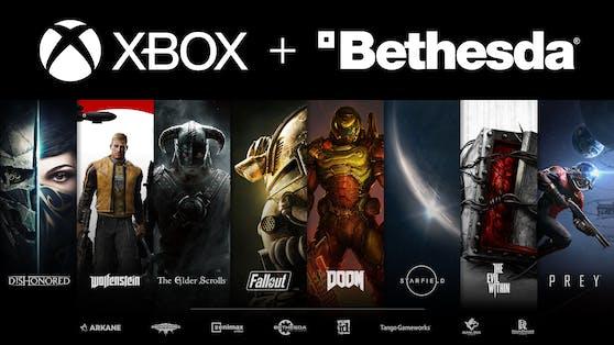 Xbox übernimmt Bethesda, seine Studios und Marken.