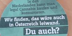 SPÖ-Jugend wirbt auf Schulgelände für Cannabis