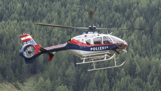 Ein Polizeihubschrauber entdeckte den 26-Jährigen (Symbolbild).
