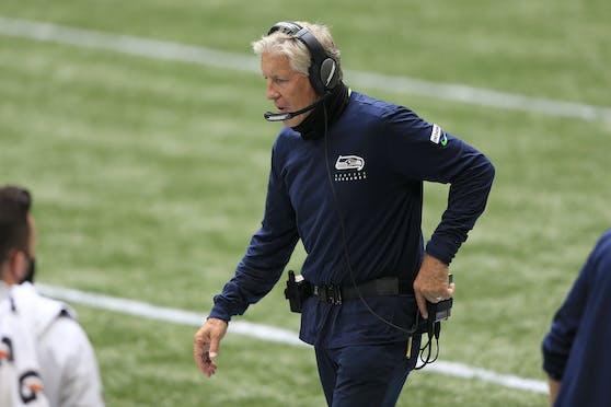Seahawks-Coach Pete Carroll wurde bestraft.