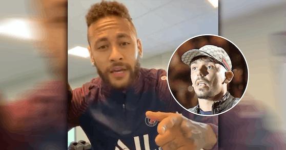 Neymar gratuliert dem Bratan.