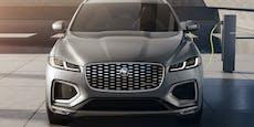 Jaguar F-Pace bekommt Facelift und Plug-in-Hybrid