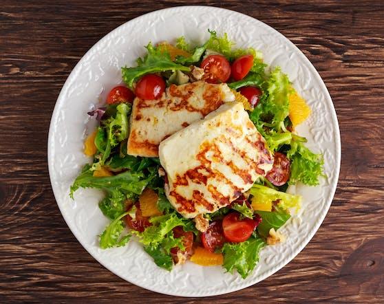 Halloumi ist der vegetarische Liebling jeder Grillfeier.