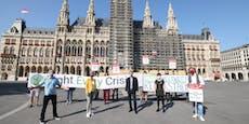 """""""Klimastreik"""" legt Verkehr in Wien lahm"""