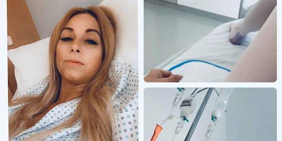 Yvonne Rueff erholt sich im Spital.