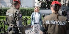Bundesheer bewacht wieder Botschaften in Wien