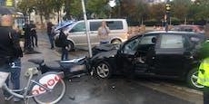 Crash vor Parlament legte Bim-Linien in Wien lahm
