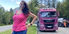 Truckerbabe bringt plötzlich 50 Kilo weniger auf Waage