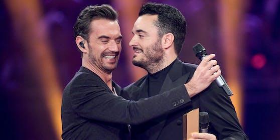 Gute Freunde, noch bessere Konkurrenten? Giovanni Zarrella und Florian Silbereisen stehen sich 2021 im Quoten-Krieg gegenüber