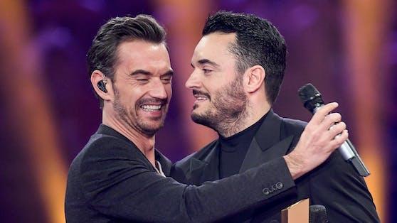 Giovanni Zarrella (rechts) und Florian Silbereisen sind seit Jahren gut befreundet