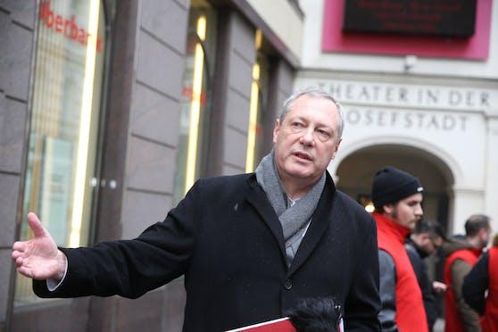 Heinz Vettermann, SPÖ-Spitzenkandidat in der Josefstadt, will den ganzen Bezirk zur Wohnzone machen.