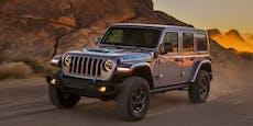 Der Jeep Wrangler kommt 2021 auch mit Plug-in-Hybrid