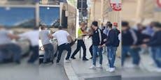 BMW-Fahrer liefert sich Schlägerei mit Abschlepper