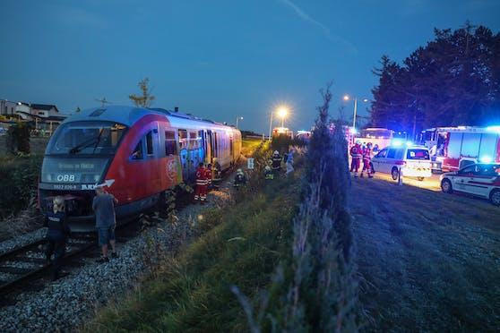 Der Zug musste evakuiert werden, weil Rauch wahrgenommen wurde.