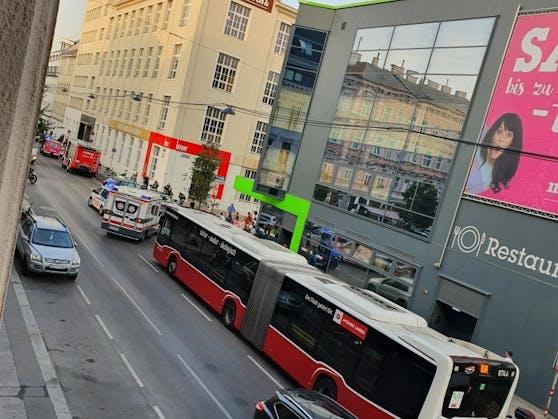 Schwerer Unfall in Wien-Ottakring