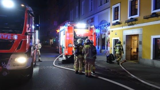 Bei dem Brand in dem Linzer Hotel wurde ein Gast (50) getötet.