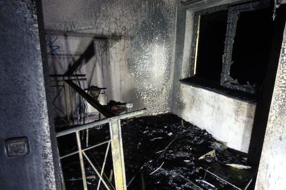 Bei dem Zimmerbrand wurde ein Hotelgast schwer verletzt.
