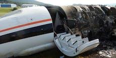 Diesen Flugzeugabsturz haben alle überlebt!